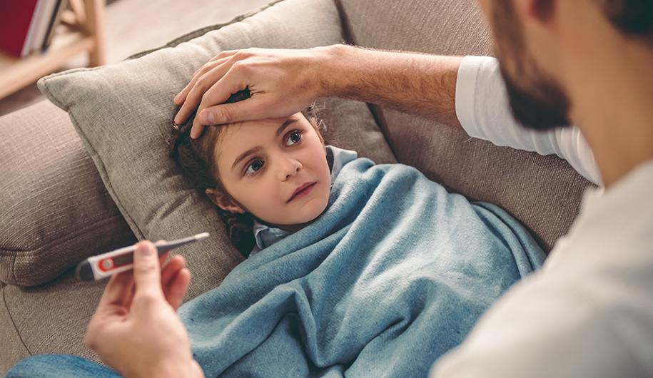 children cold سرماخوردگی کودکان