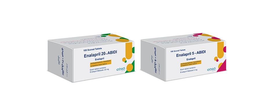 Enalapril 20 & Enalapril 5 | انالاپریل ۲۰ و انالاپریل ۵