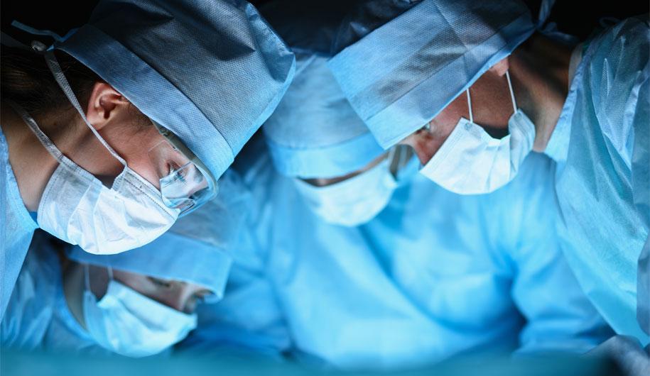 جراحی و بیهوشی در اماس