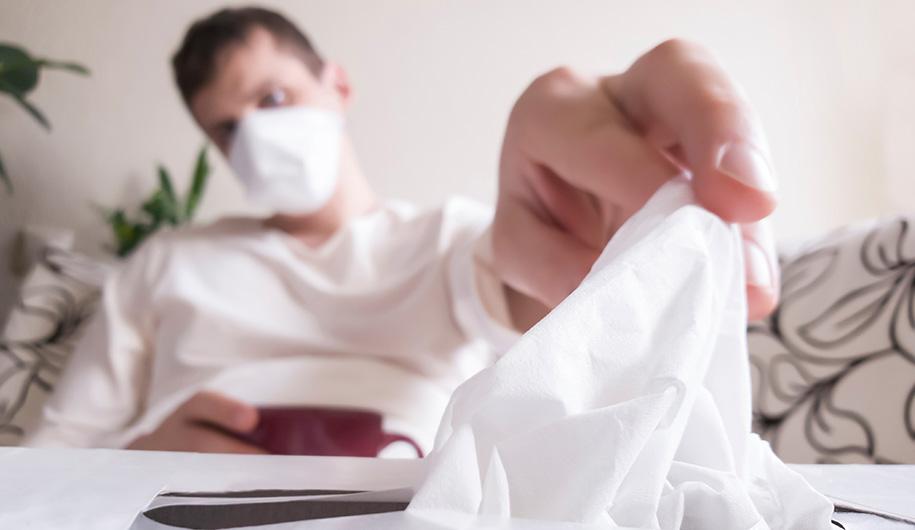 آلرژی بینی و عفونت با ویروس کرونا|allergic rhinitis& coronavirus