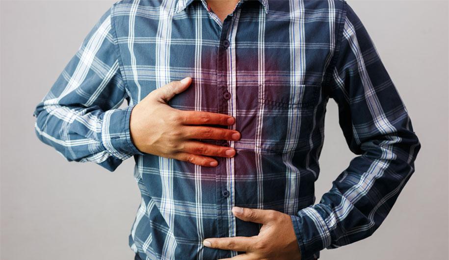 reduce gastric acid reflux / کاهشریفلاکس معده