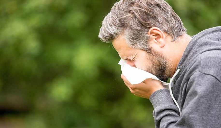 سرفه ناشی از آلرژی فصلی