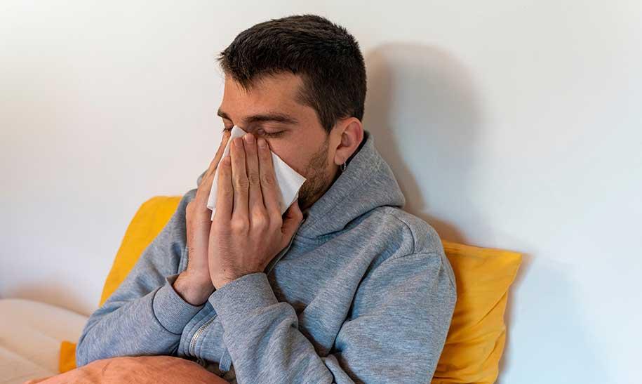 تشخیص سرماخوردگی از عفونت کرونا