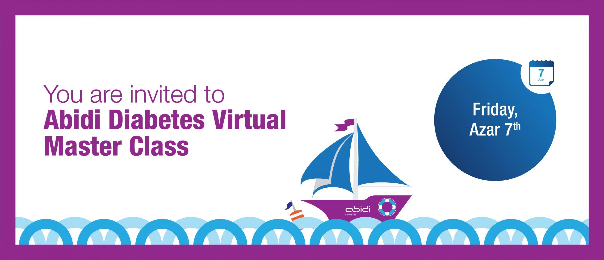 Abidi Diabetes Virtual Advanced Master Class