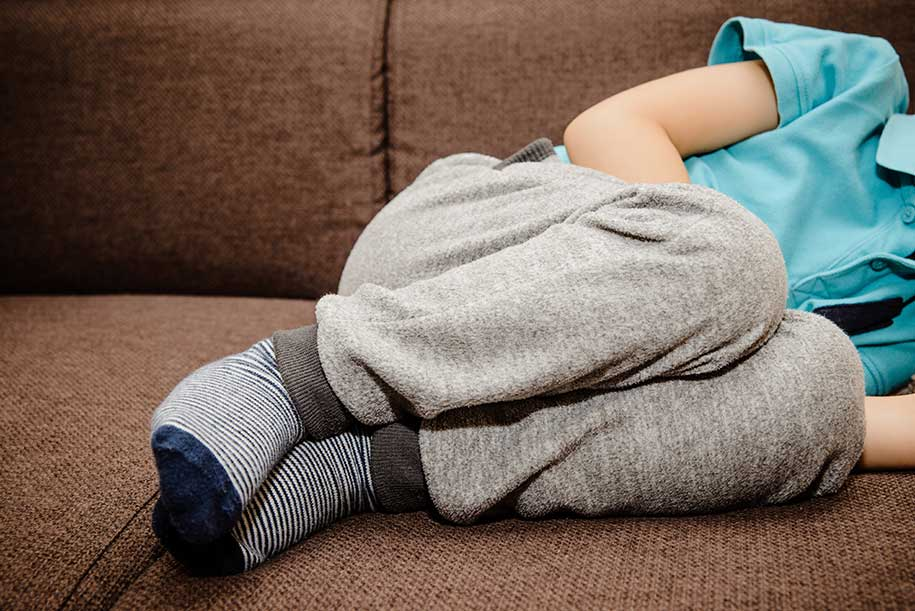 تب و اسهال در کودکان