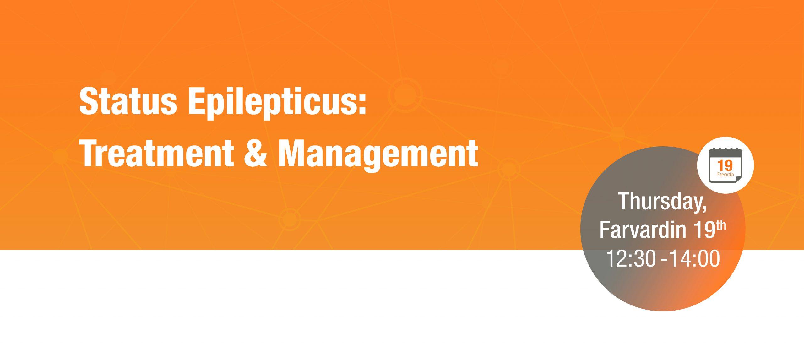 Status Epilepticus: Treatment and Management