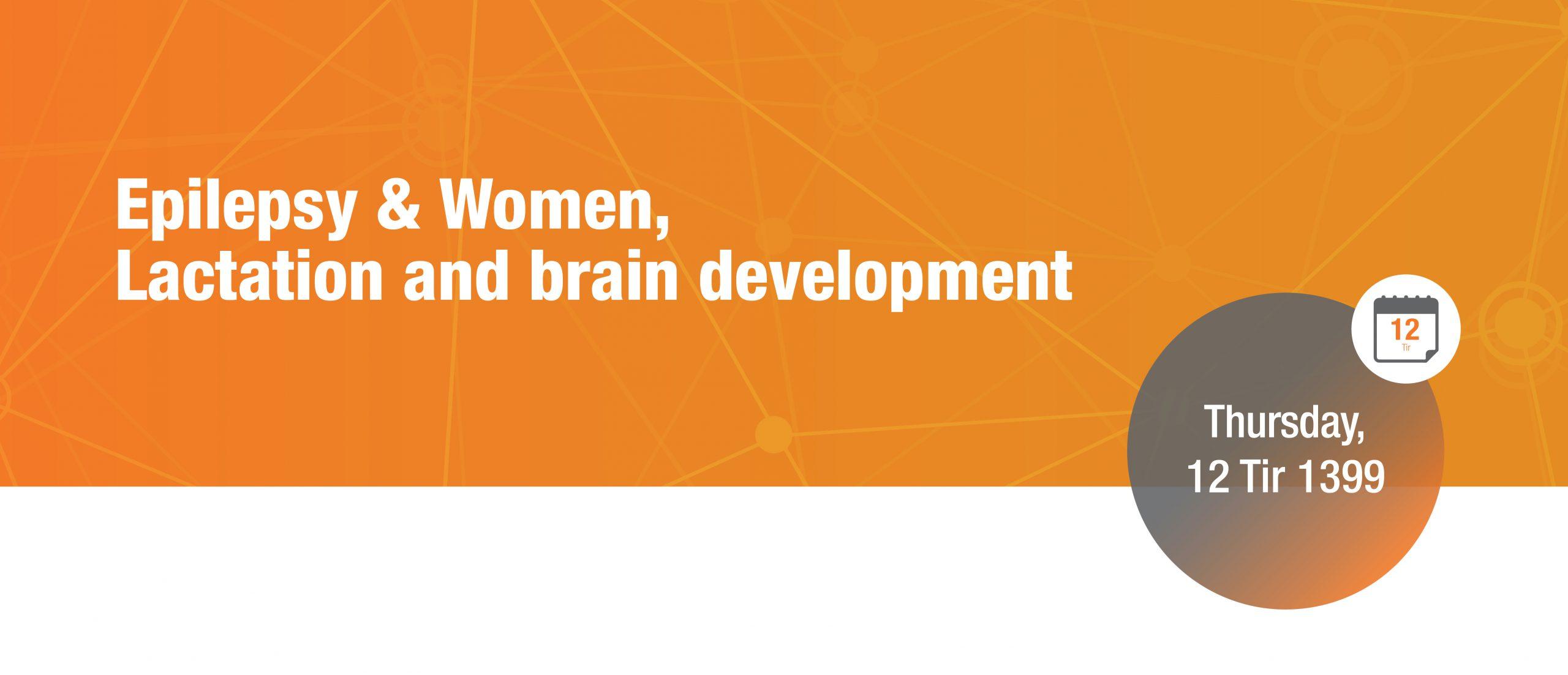 Epilepsy & Women, Lactation and brain development